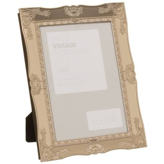 "Metallic Vintage Photo Frames 5 x 7"" 2pk - Gold"