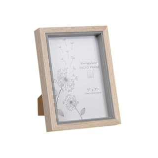 "Hampshire Wooden Frame 5 x 7"" - Grey"