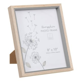 "Hampshire Wooden Frame 8 x 10"" - Grey"