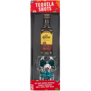 Jose Cuervo Especial Tequila & Shot Glass Gift Set