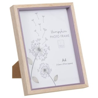Hampshire Wooden Frame A4 - Heather