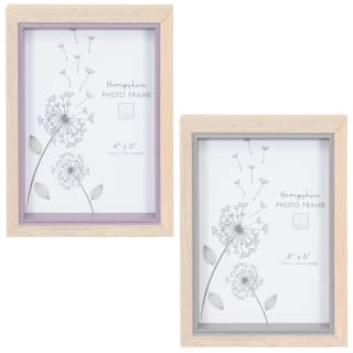 "Hampshire Wooden Frame 4 x 6"" - Grey"