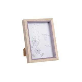 "Hampshire Wooden Frame 4 x 6"" - Heather"