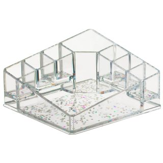 Glitter Corner Cosmetic Multi Storage Caddy
