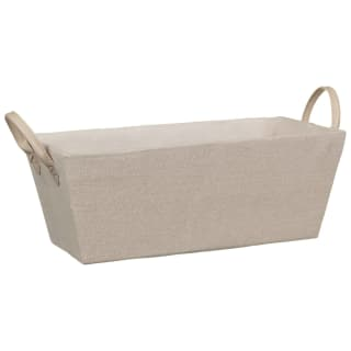 Rectangular Storage Basket - Tan