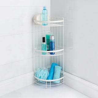 Addis 3 Tier Corner Caddy - White