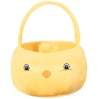 Chick Plush Easter Egg Basket