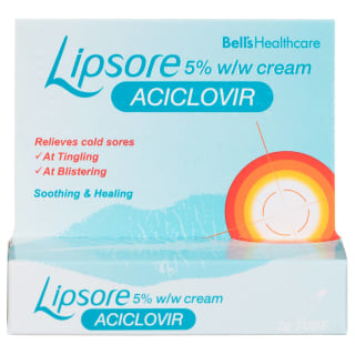 Lipsore Cold Sore Cream 2g