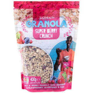 Mo Health Granola Super Berry Crunch 450g