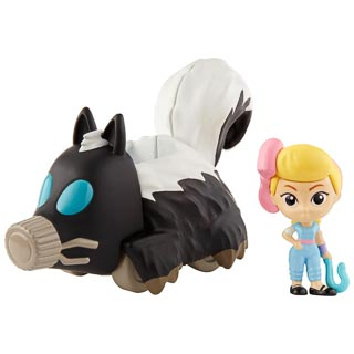 Toy Story Minis Bo Peep & Skunkmobile Figure