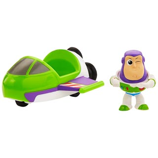Toy Story Minis Buzz & Spaceship Figure