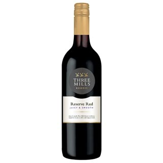 Three Mills Reserve Red Wine 75cl