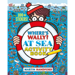Where's Wally? Sticker Activity Book - At Sea
