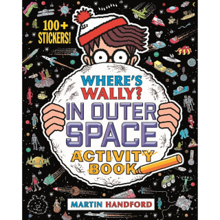 Where's Wally? Sticker Activity Book - In Outer Space