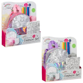 Colour Your Own Fashion Stationery Set - Mermaid