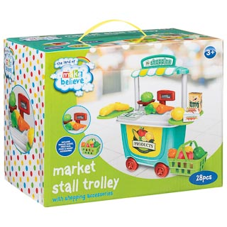 Market Stall Trolley 28pc