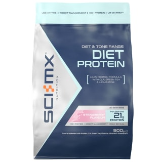 SCI-MX Diet Protein 900g - Strawberry