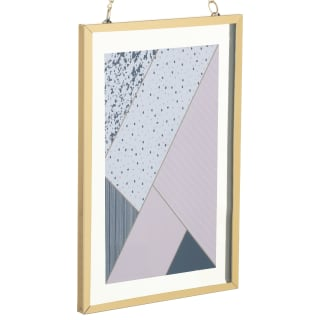 Gold Hanging Picture Frame 4 x 6""
