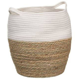 Two-Tone Storage Basket