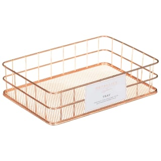 Metallics Basket Tray