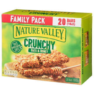 Nature Valley Crunchy Oats & Honey 20pk
