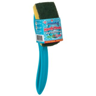 Minky Handy Handle Wash Pad - Blue