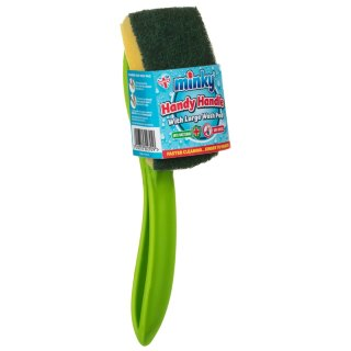 Minky Handy Handle Wash Pad - Green