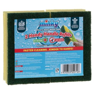 Minky Handy Handle Refills 2pk