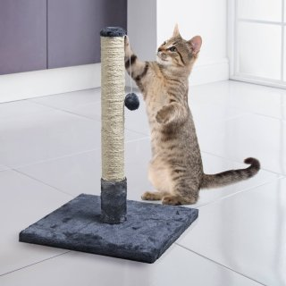 Cat Scratching Post - Grey