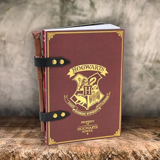 Harry Potter Notebook & Wand Pen