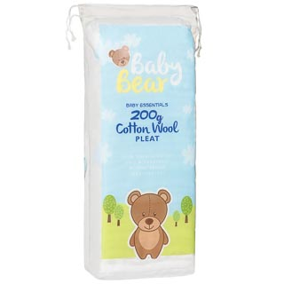 Baby Bear Cotton Wool Pleat 200g