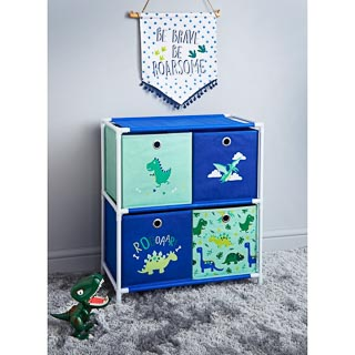 Dinosaur 4 Drawer Chest
