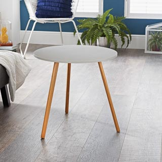 Bjorn End Table - Stone