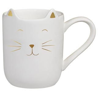 Cat Shaped Mug