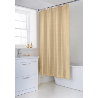 Metallic Collection Shower Curtain - Gold