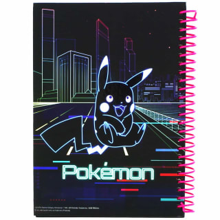 A5 Pokemon Notebook - Pink Neon