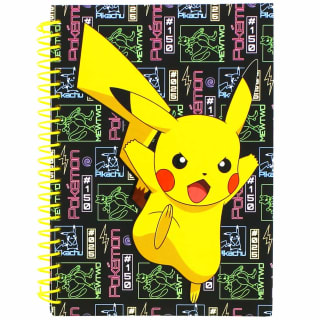 A5 Pokemon Notebook - Yellow
