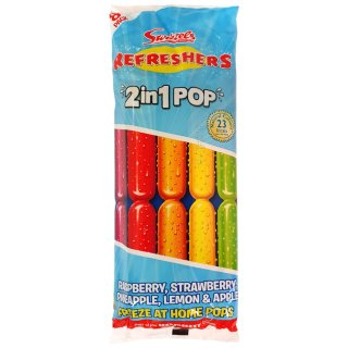 Swizzels Refreshers 2-in-1 Ice Pops 8pk