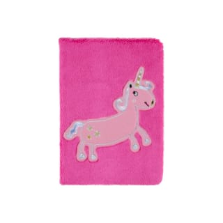 A5 Plush Notebook - Unicorn