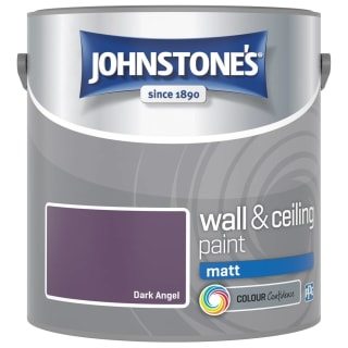 Johnstone's Paint Vinyl Matt Emulsion - Dark Angel 2.5L