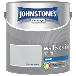 Johnstone's Paint Vinyl Matt Emulsion - Frosted Silver 2.5L