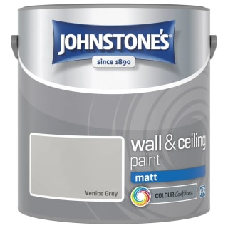 Johnstone's Paint Vinyl Matt Emulsion - Venice Grey 2.5L