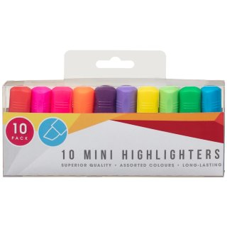 Mini Highlighters 10pk