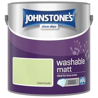 Johnstone's Washable Matt Paint - Lime Crush 2.5L