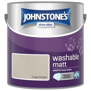 Johnstone's Washable Matt Paint - Taupe Delight 2.5L
