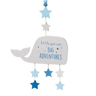 Nursery Hanging Plaque - Big Adventures