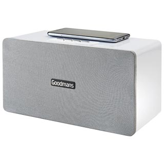 Goodmans Home Speaker with Qi Charging