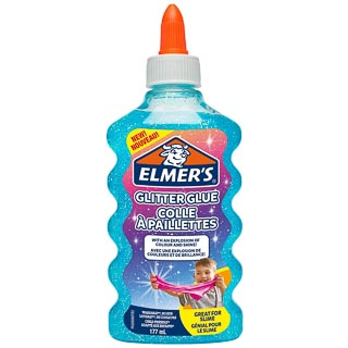 Elmer's Glitter Glue 177ml - Blue