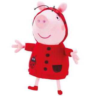 Peppa Pig Plush Toy - Ladybird