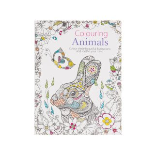 The Mini Book of Colouring Animals
